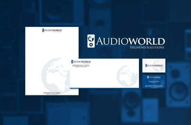 High end audio product, Speaker logo