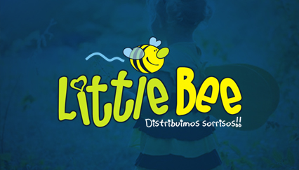 Baby & children clothing logo design, Bee logo