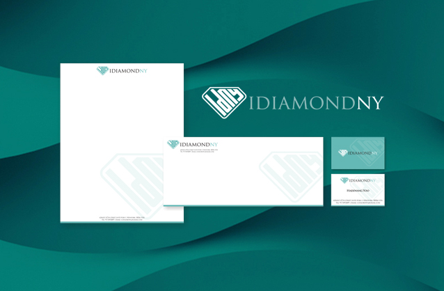 Gold & diamond jewelry, Diamond logo