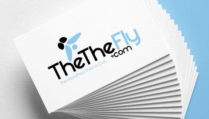 WordPress theme store logo, Fly logo