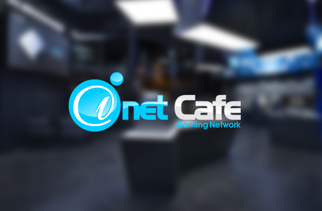 Internet cafe logo, Game center logo
