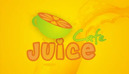 Backyard-style summer cafe & bar logo design, Fruit logo