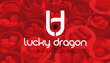 Chinese restaurant logo, Dragon logo