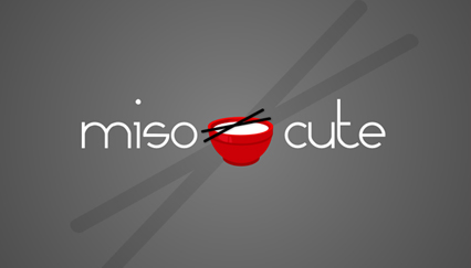 Homemade baby items logo, Miso logo