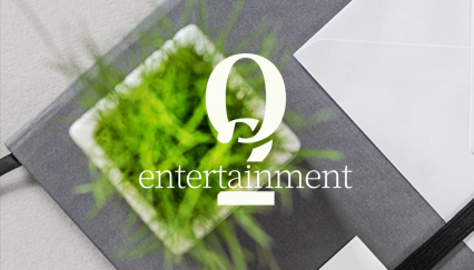 Music video website, Entertainment logo