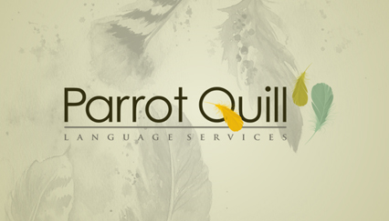 Translation service, Parrot feather logo