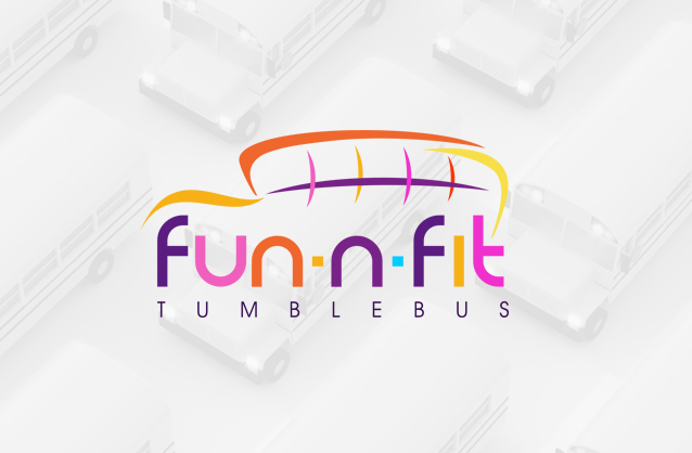 School bus logo design, Tumblebus logo