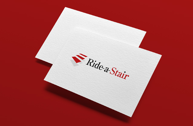 Customised stairlifts logo, Stair logo