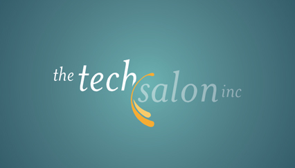 High technology logo design