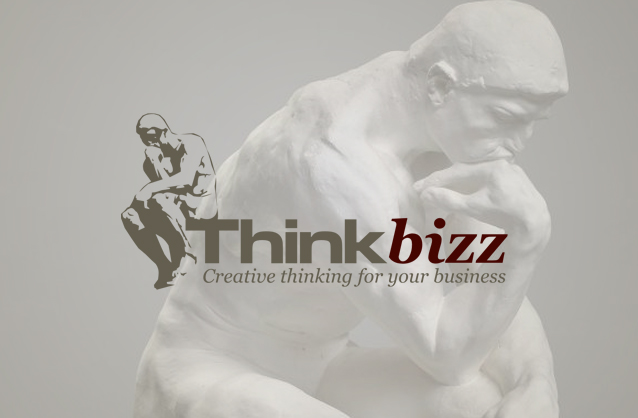 Venture capital logo, Rodin thinker logo