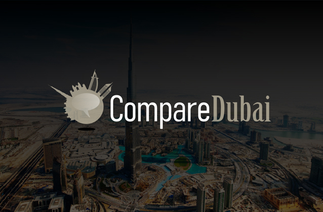 Comparison site logo, Dubai logo design