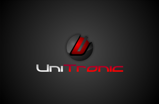 Electronic products, 3D High tech logo