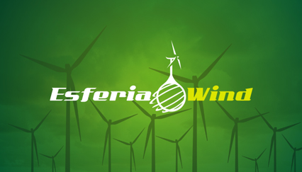 Wind energy logo design, Windmill logo
